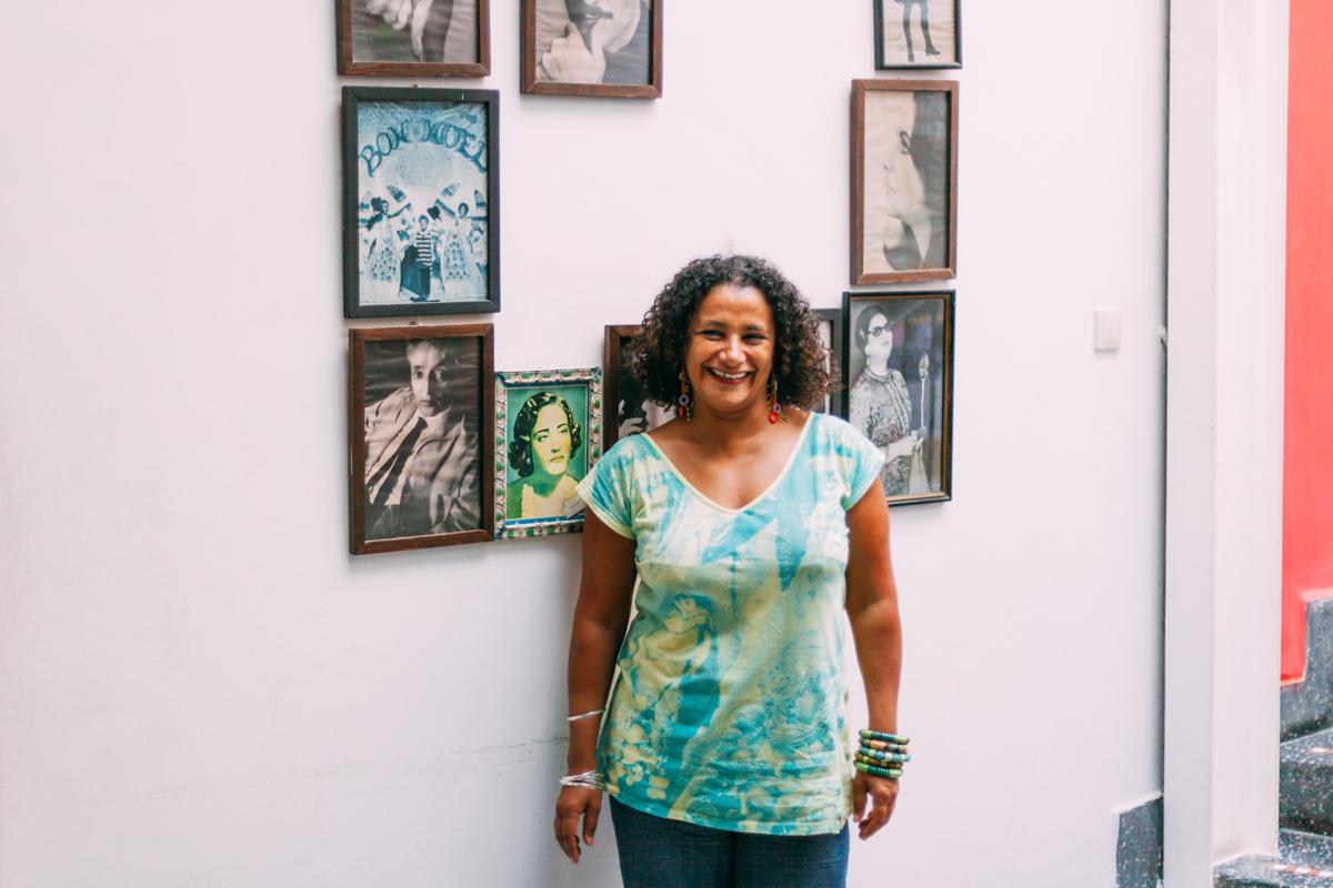 Malika Chaghal - Responsable de la Cinematheque Tanger - © Mehdi Drissi / Onorientour