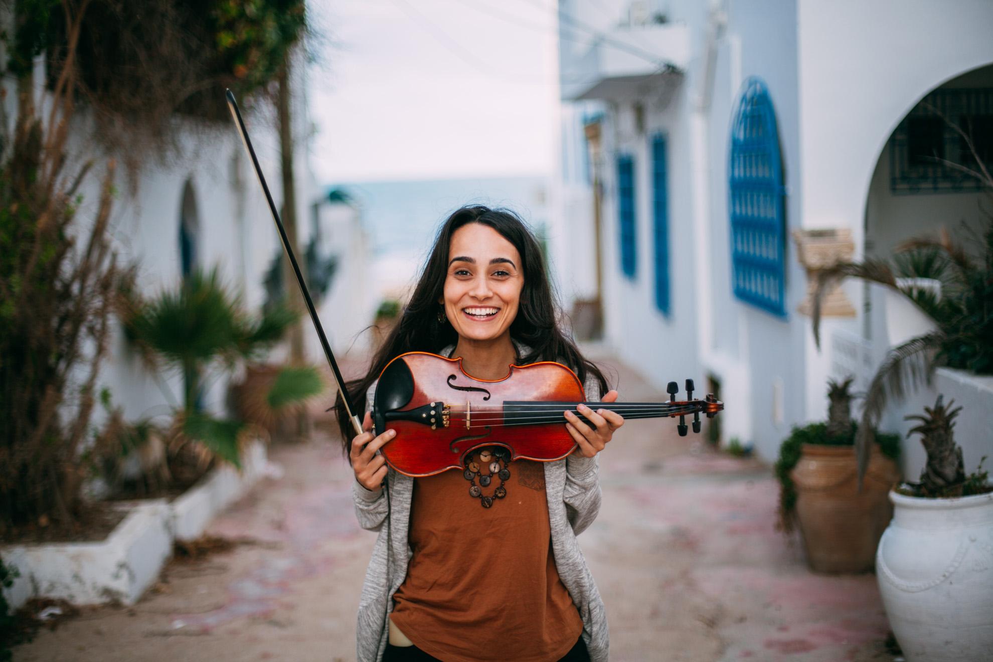 Houyem Ghattas © Mehdi Drissi