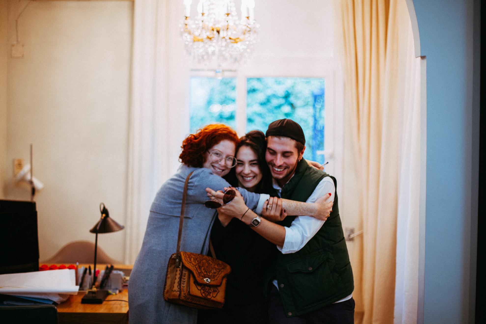 Hella, Saima et Walid © Mehdi Drissi