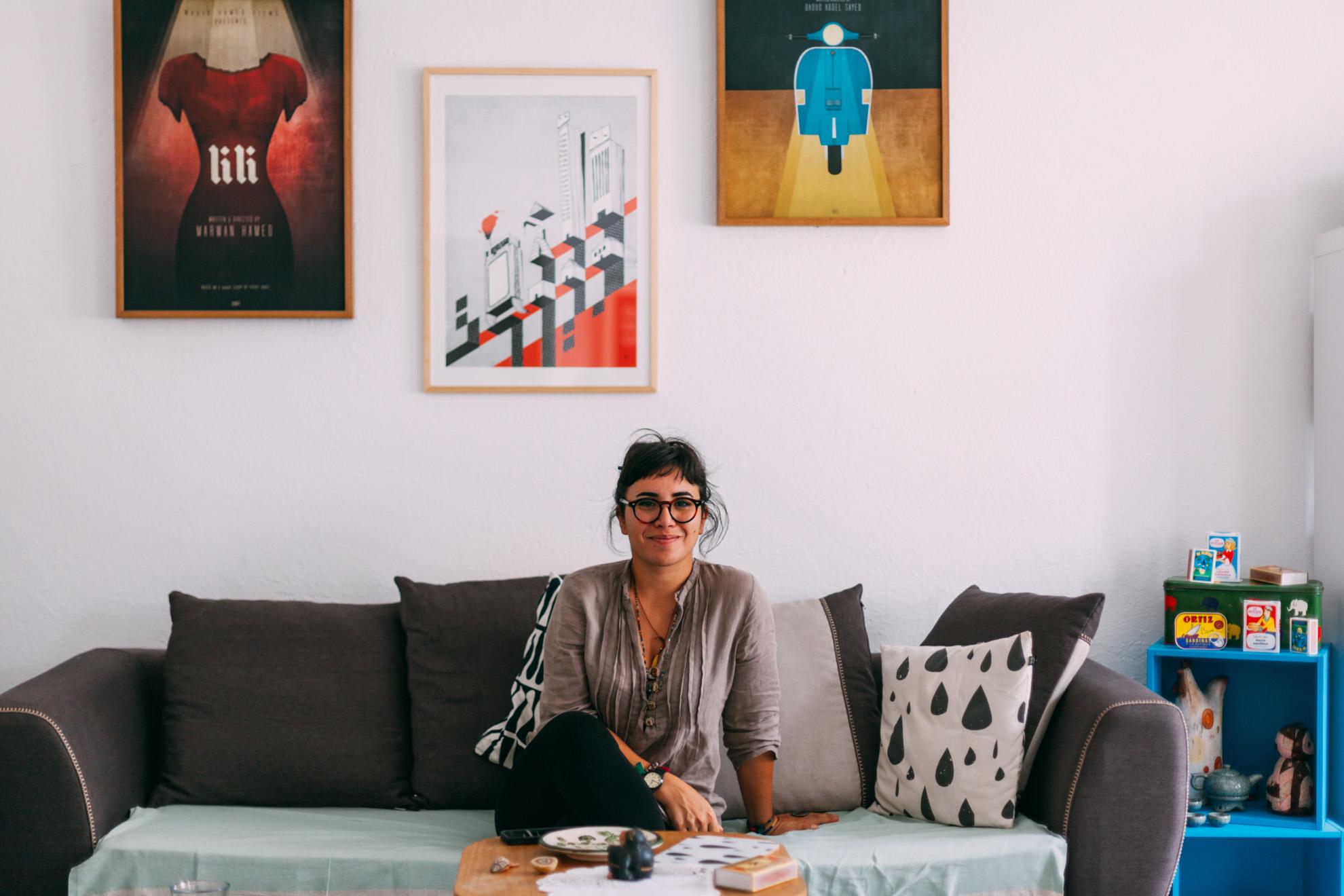 Amina Abdellatif (Amoniak) © Mehdi Drissi