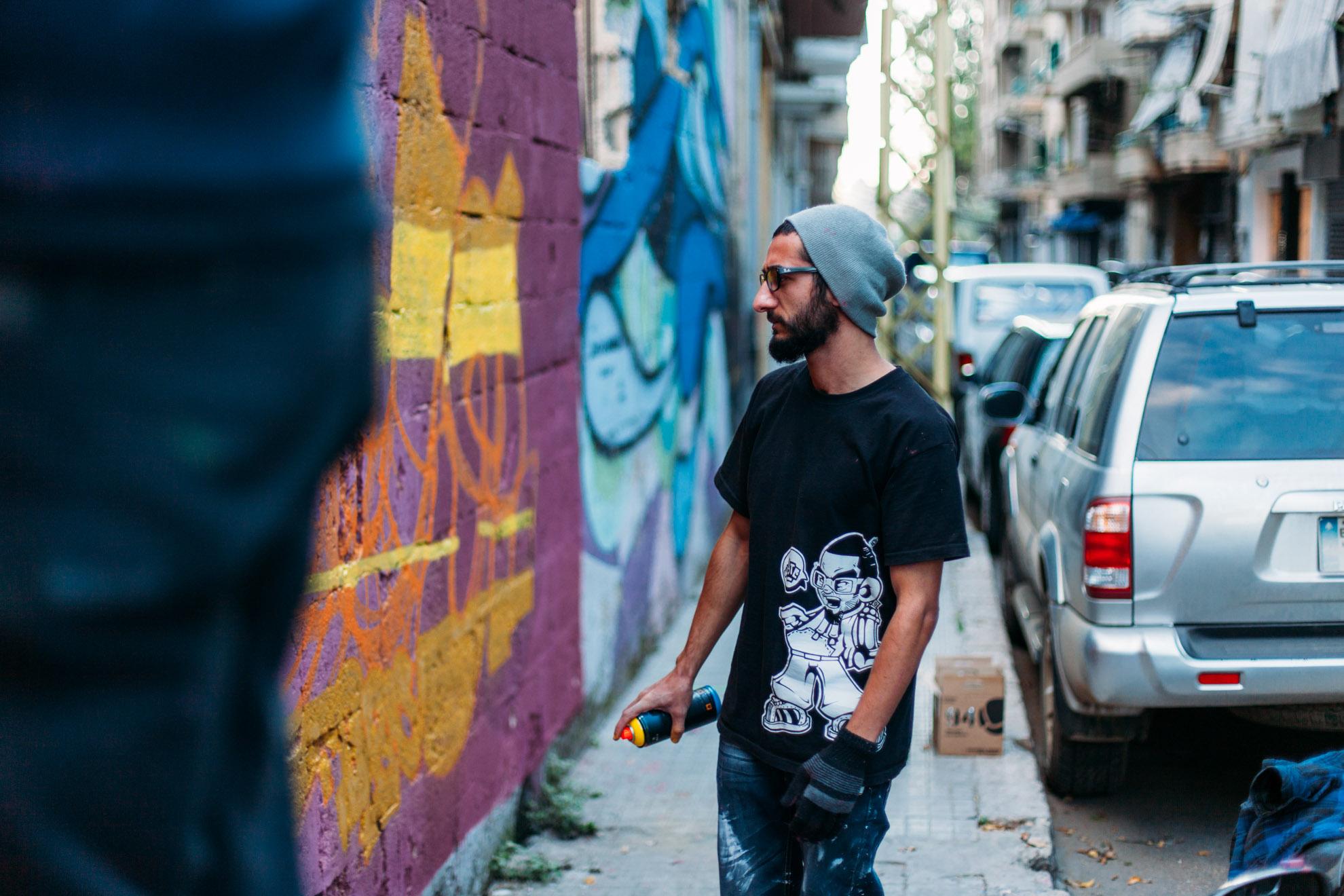 YT, à Beyrouth © Mehdi Drissi