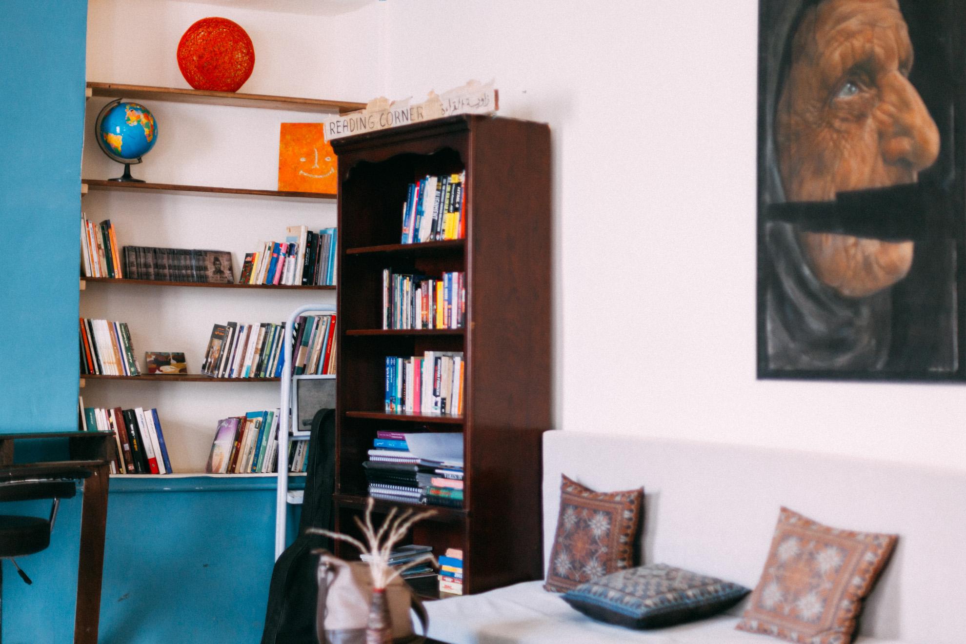 espace intérieur - Jadal ©Mehdi Drissi